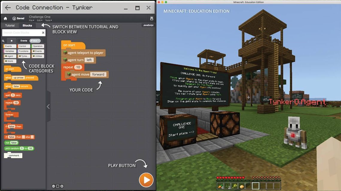 Learn to Code with Tynker and Minecraft Education: Everything You