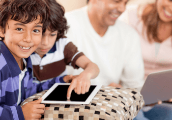 Find time for screen free family time