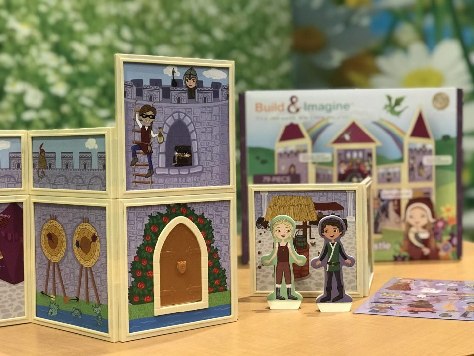 Build and Imagine Magnetic Castle StoryWalls