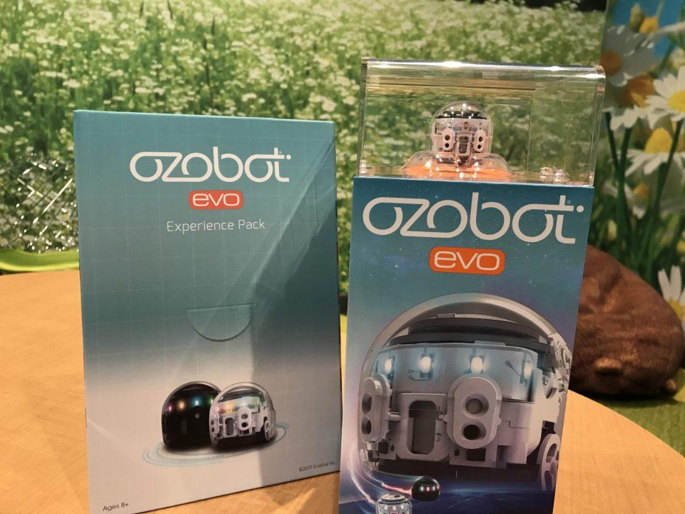 Ozobot Evo Coding Robot Unboxing