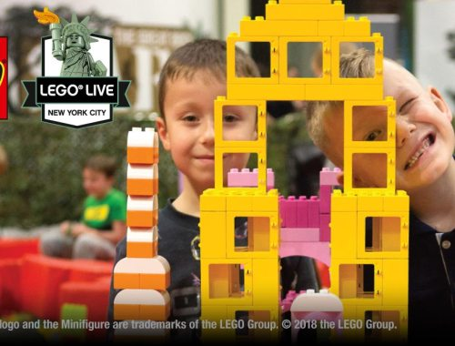 WIN TICKETS FOR LEGO LIVE NYC