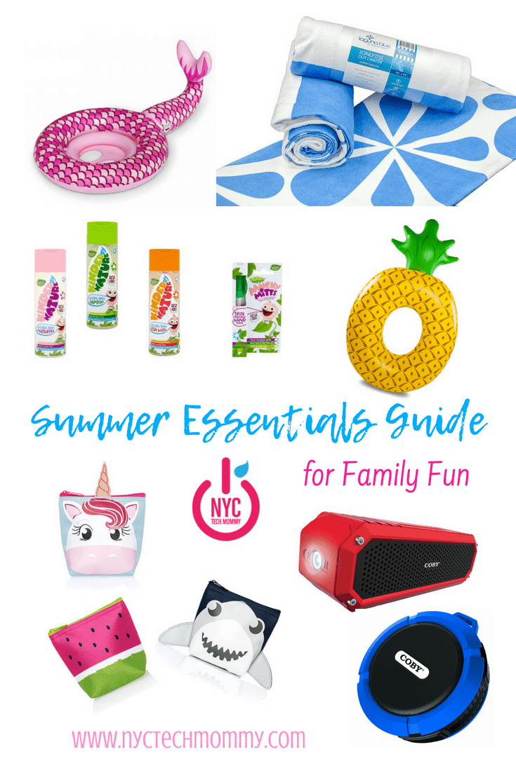Summer Essentials Guide for Family Fun -- everything you need for summer fun!