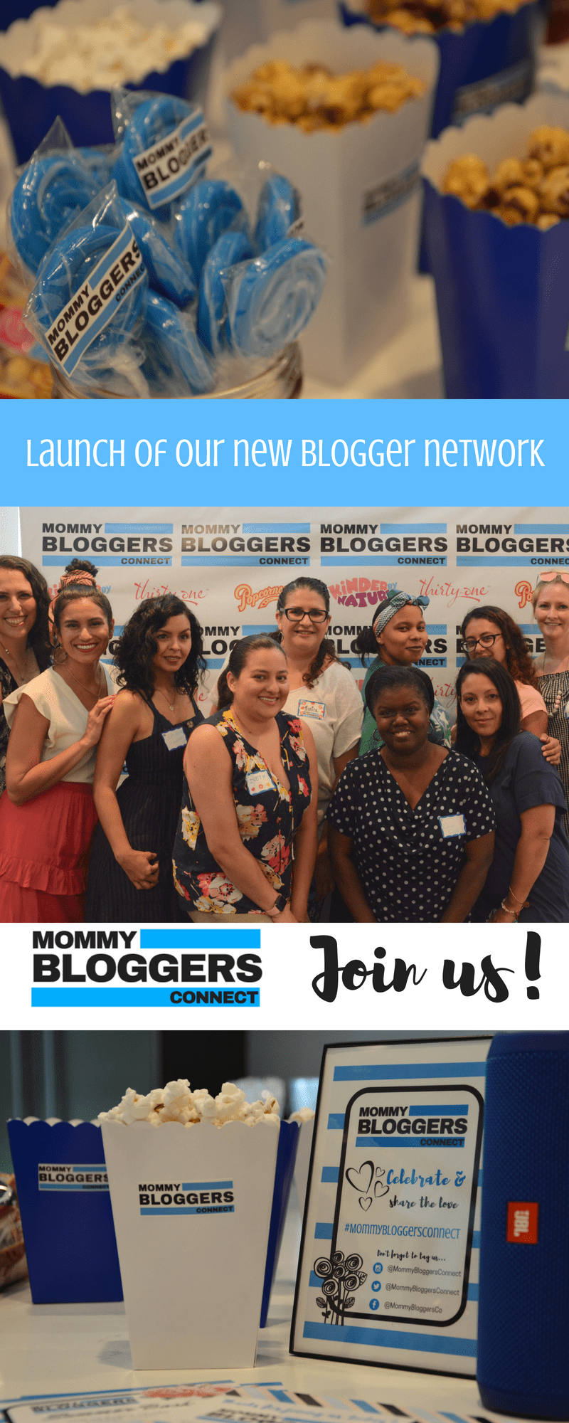 New BLOGGER NETWORK - Join us at Mommy Bloggers Connect - #MommyBloogesConnect #BloggerNetwork