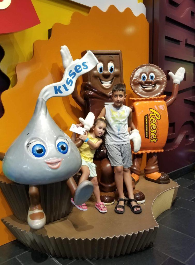 Chocolate World at Hershey Park