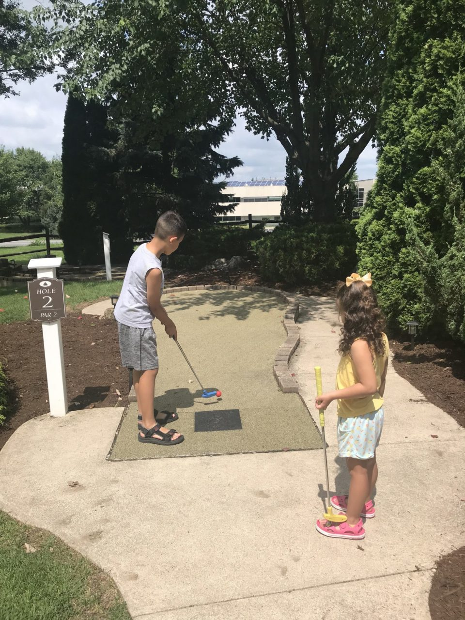 Hershey Lodge Mini Golf