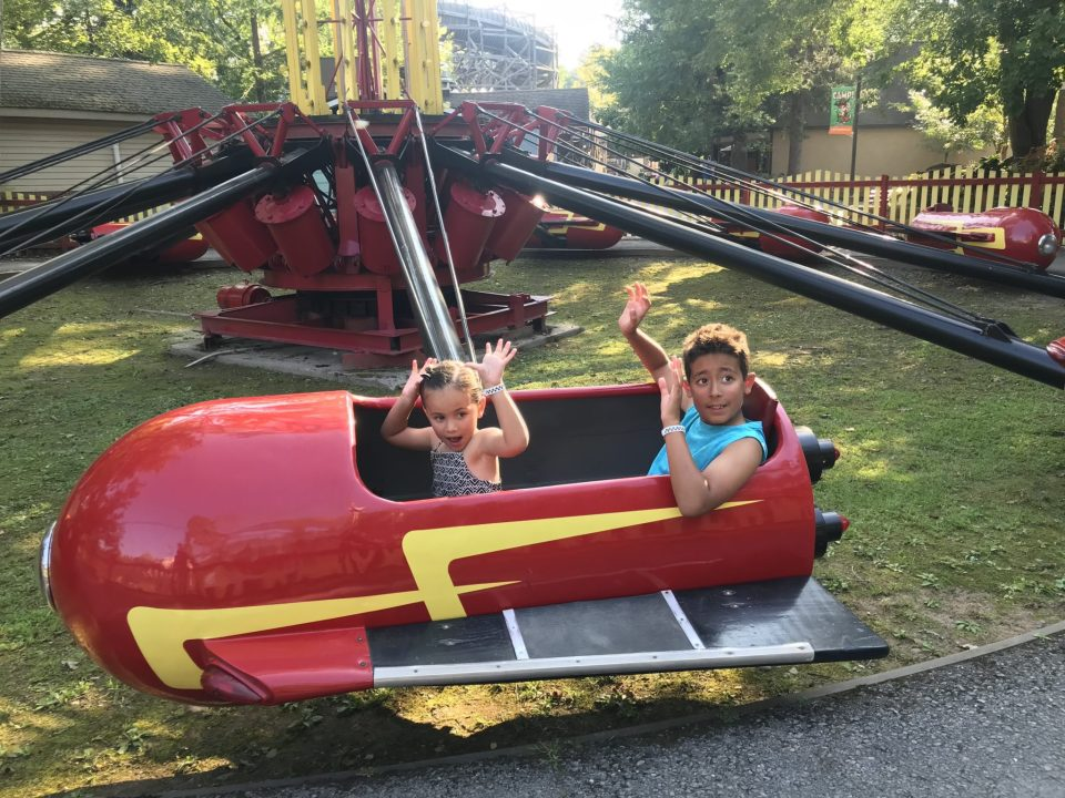 Kiddie Rides at Knoebels