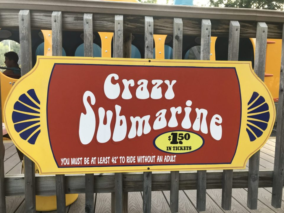 Knoebels Crazy Submarine