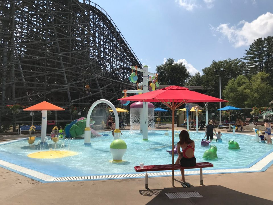 Knoebels Kiddie Pool