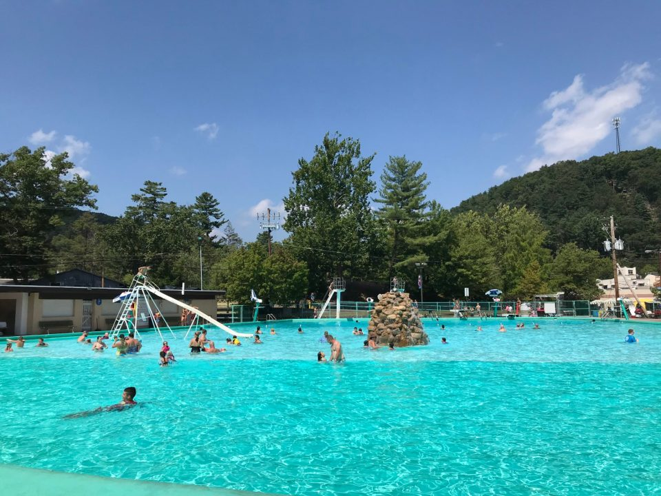 Knoebels Crystal Pool