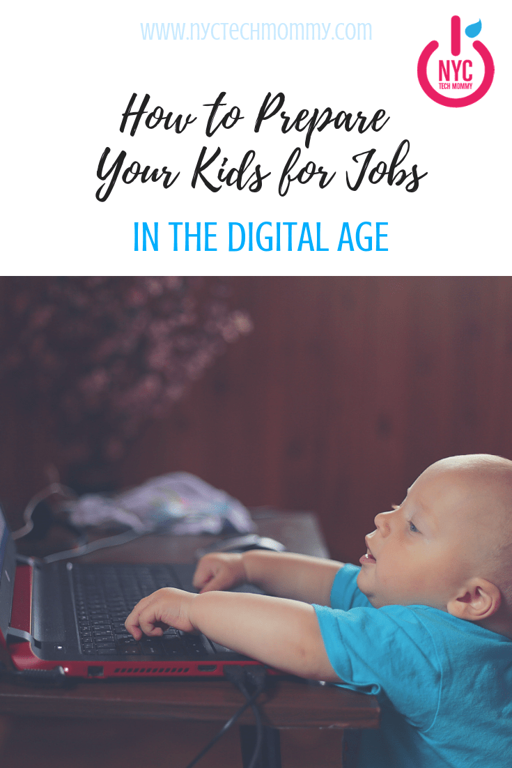 Our kids will be required to have technical skills far beyond what we've had to learn. Today's guest post shares some great tips onhow to prepare your kids for jobs in the digital age.