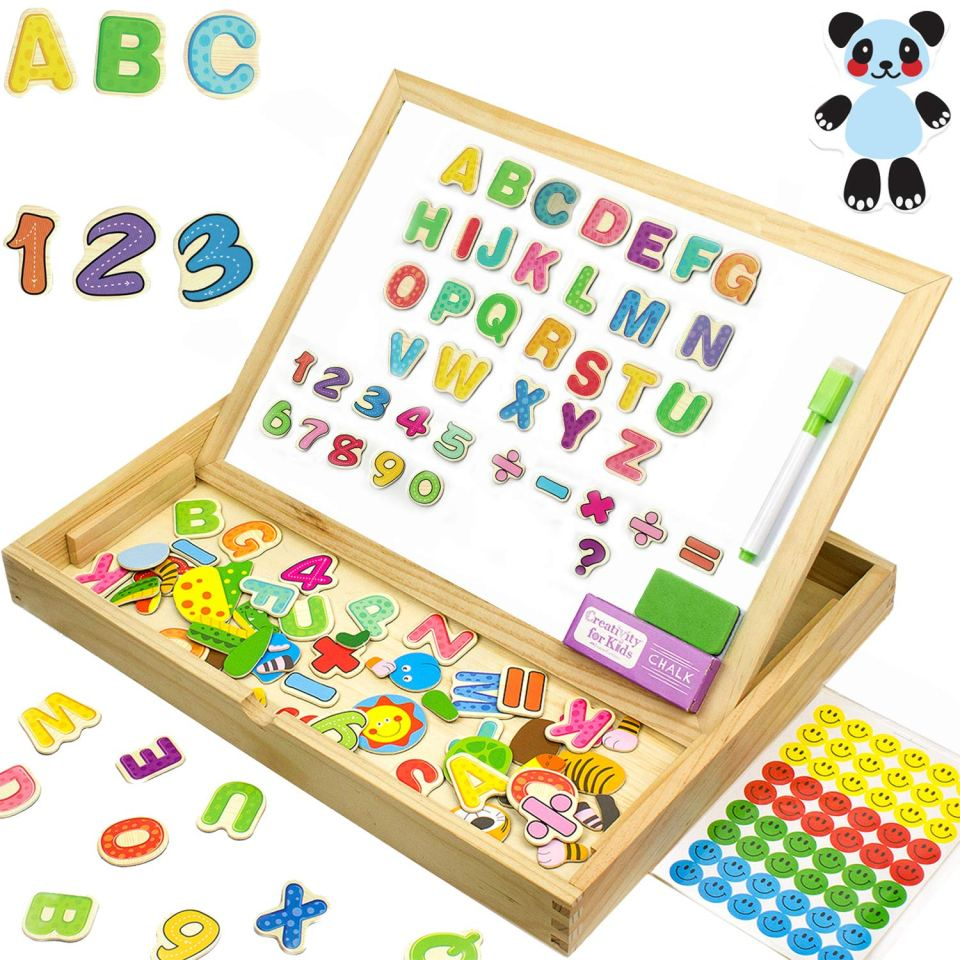 Back to School Essentials for little kids - Magnetic Letter Board