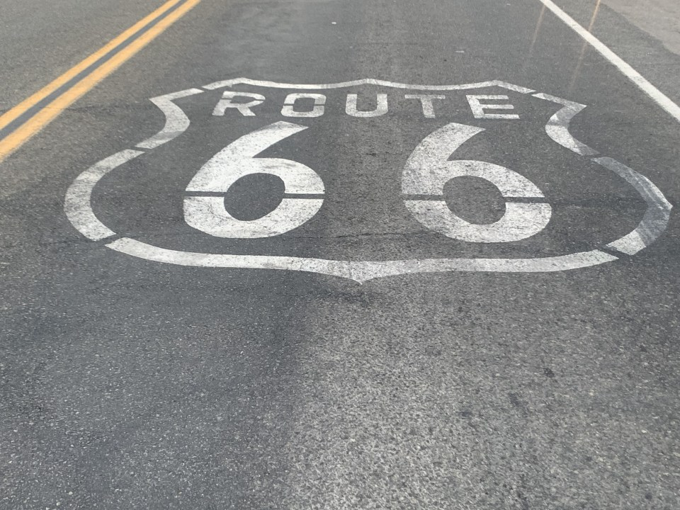 Read all the details of our Epic Family Road Trip driving from Vegas to LA and all the Route 66 stops you can't miss + tips and more! #familyroadtrip #Route66 #LasVegasRoadTrip #CaliforniaRoadTrip