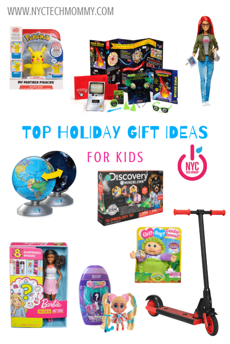 Here are the TOP HOLIDAY GIFT IDEAS for kids that made our wishlist this year!
