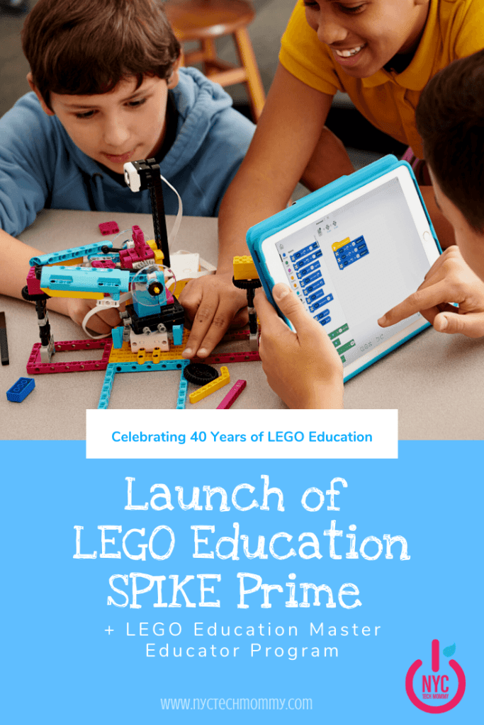 Celebrating 40 Years of LEGO Education with the launch of SPIKE Prime + LEGO Education Master Educator Programs -- here are all the details!
