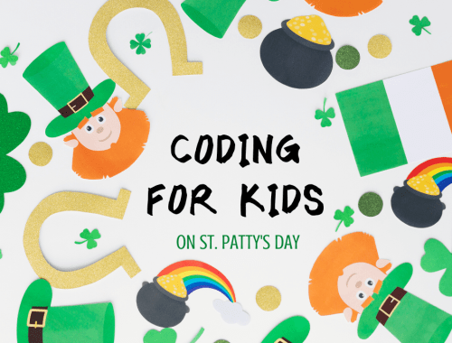 Coding for Kids - St. Patty's Day coding activities for kids with Tynker