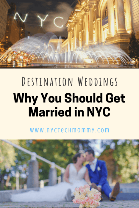 Here are the top reasons why you should get married in NYC! This vibrant city truly offers it all when looking for a unique landscape for your special day.  #weddingday #destinationwedding #nycwedding #planawedding