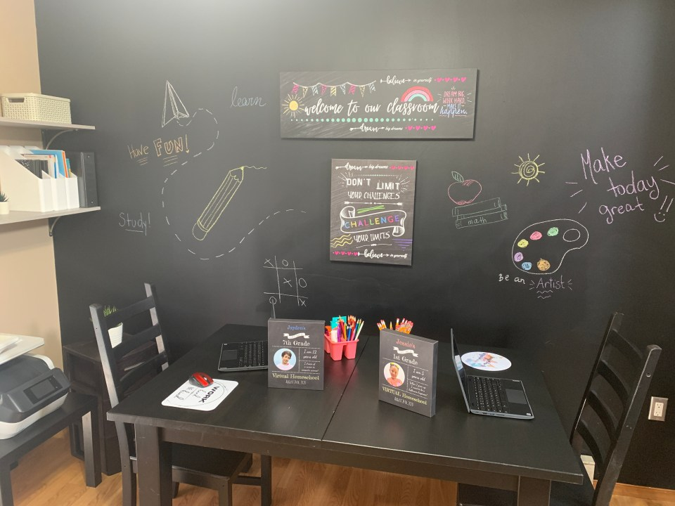 How to set up a learning space at home - Easy tips!