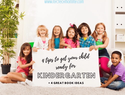 Tips to Get Ready for Kindergarten + book recommendations for back to school