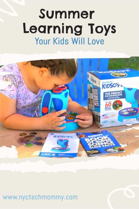 Cure summer boredom with these fun summer learning toys kids will love!