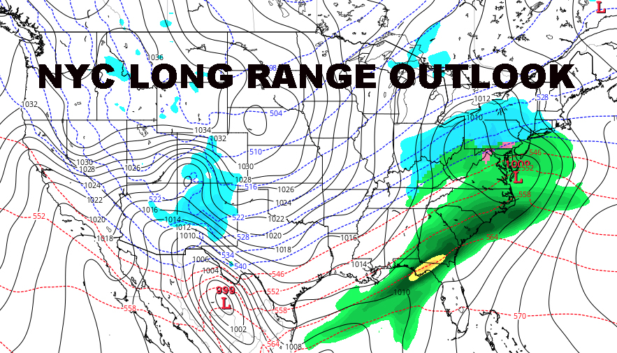NYC LONG RANGE WINTER OUTLOOK