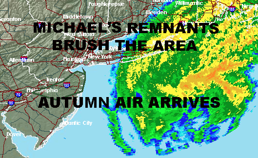 MICHAELS REMNANTS BRUSH AREA NYC AUTUMN AIR ARRIVES