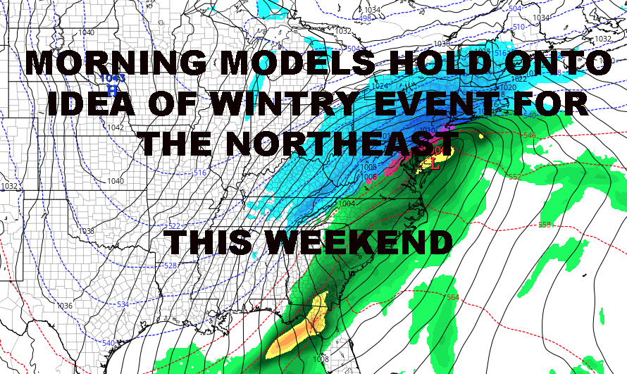 NYC WEEKEND WINTRY EVENT POSSIBLE PROCEED WITH CAUTION