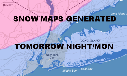 NYC LIGHT SNOW EXPECTED MIXING ISSUES POSSIBLE
