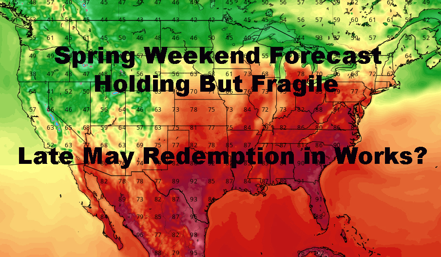 NYC Spring Weekend Forecast Holding But Fragile