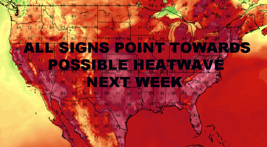 First 2019 NYC Heatwave Possible Next Week
