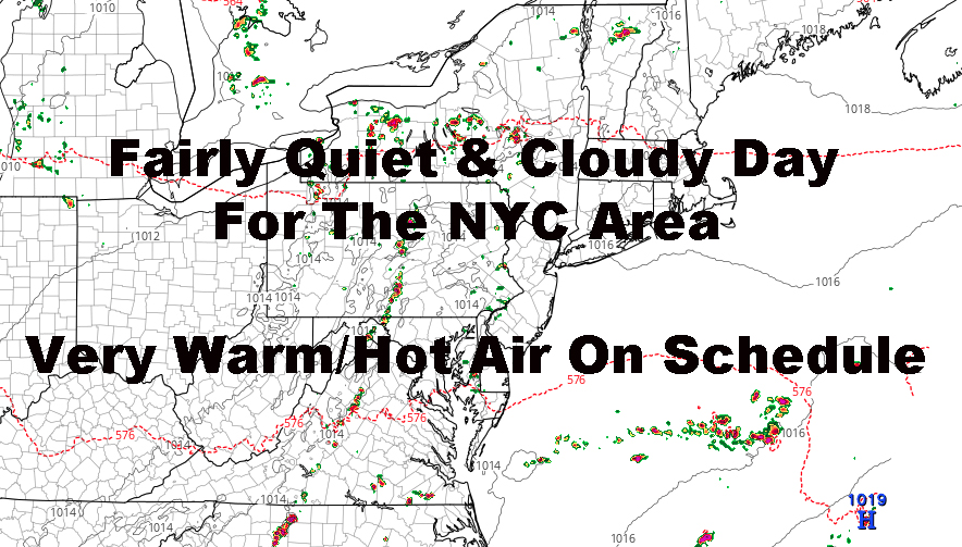 Fairly Quiet NYC Stretch Ahead With Building Heat