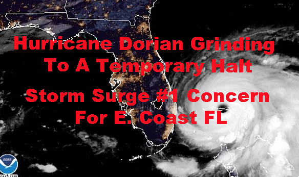 Hurricane Dorian Storm Surge Biggest Florida Concern