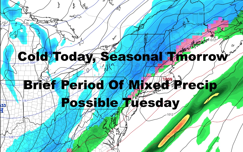 NYC Similar Thursday System Arriving Tuesday