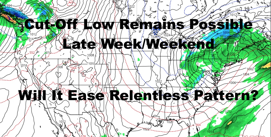 Will Stubborn Low Pressure Help Us?