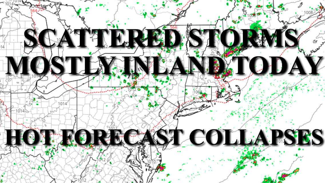 NYC Hot Forecast Collapses