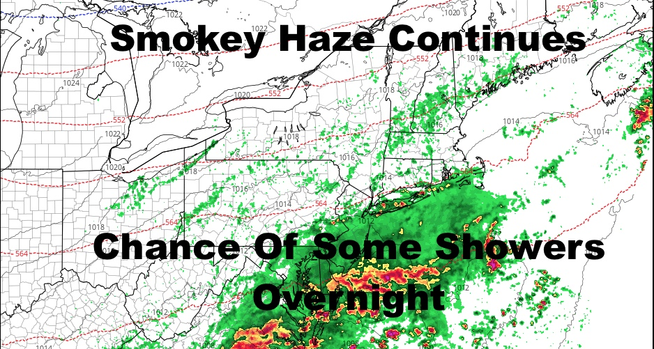 Rain May Clip NYC Area Overnight Into Tomorrow Morning