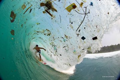 Surfing trash island: photographer captures startling ...
