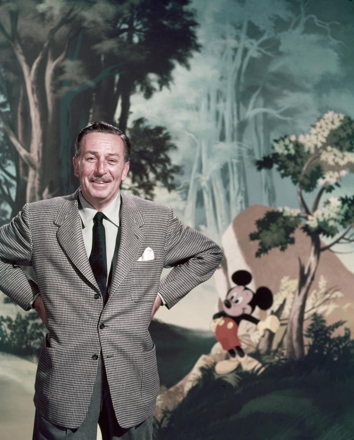 The Day Walt Disney An American Icon Who Gave Us Mickey