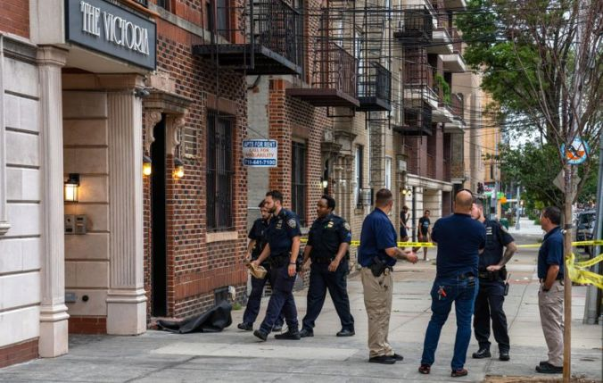 The officer, identified by sources as Richard Catapano, shot himself in the head in his apartment on 23rd St. near 31st Ave. in Astoria about 1:50 a.m., the sources said.