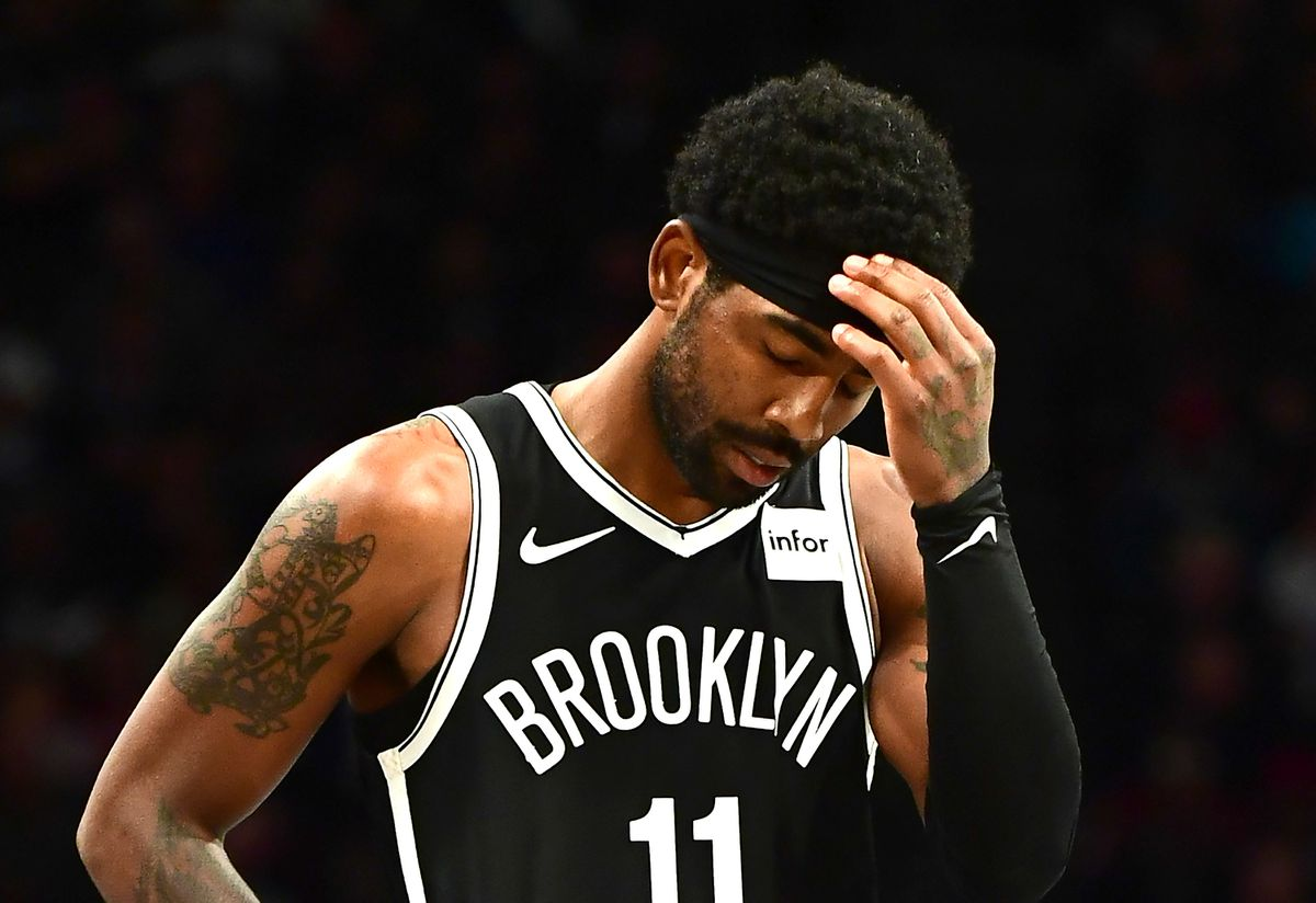 Kyrie Irving drops 50 in debut for Nets, but can't hit game-winner in overtime loss to Timberwolves