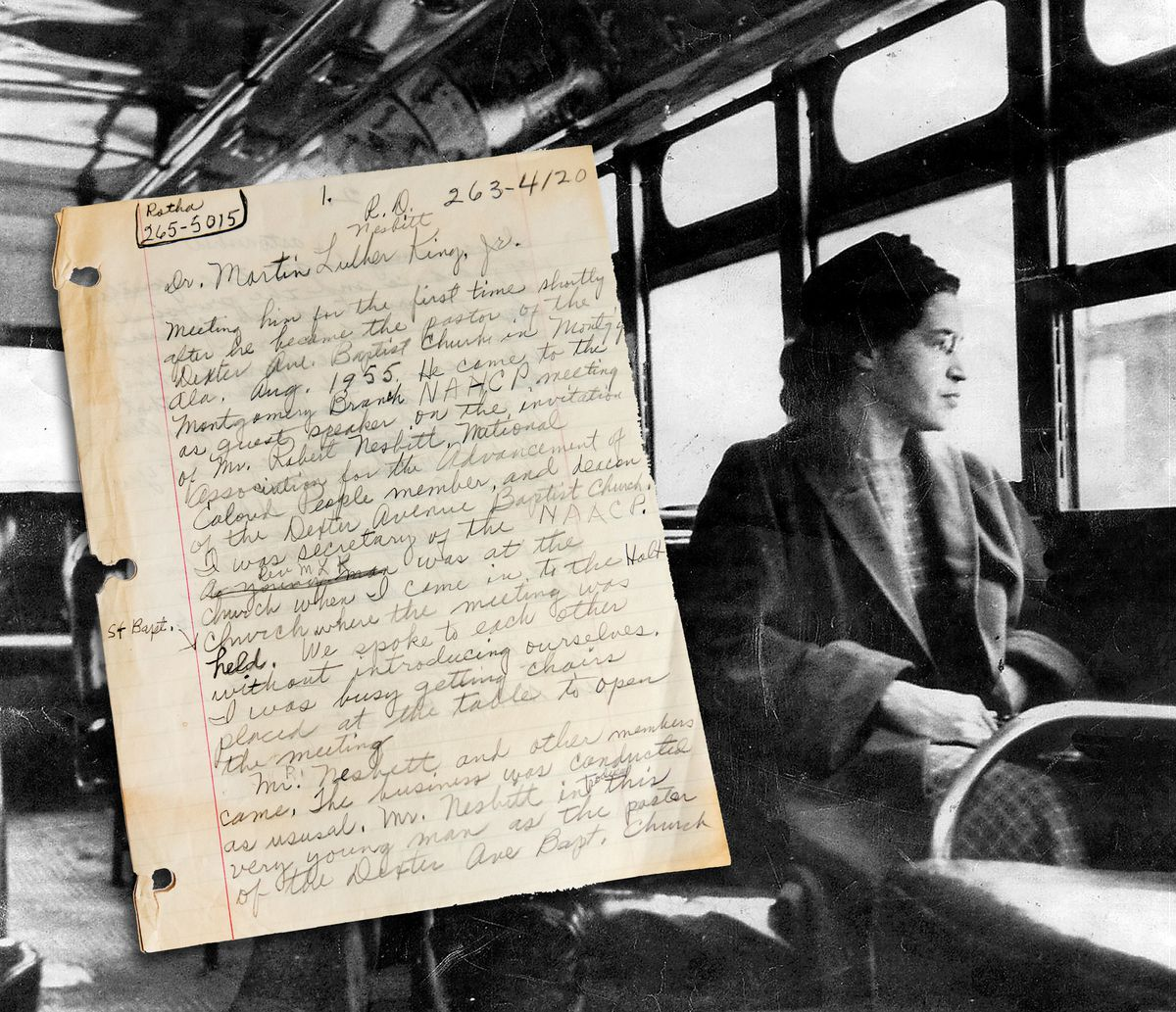 Monumental Auction Will Feature A Handwritten Letter By Rosa Parks And Unpublished Pages By Alex