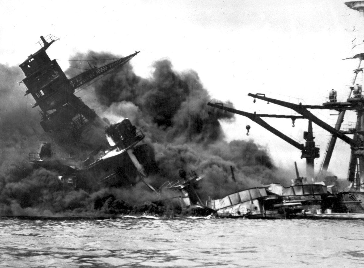 Pearl Harbor Prompts U S To Declare War On Japan
