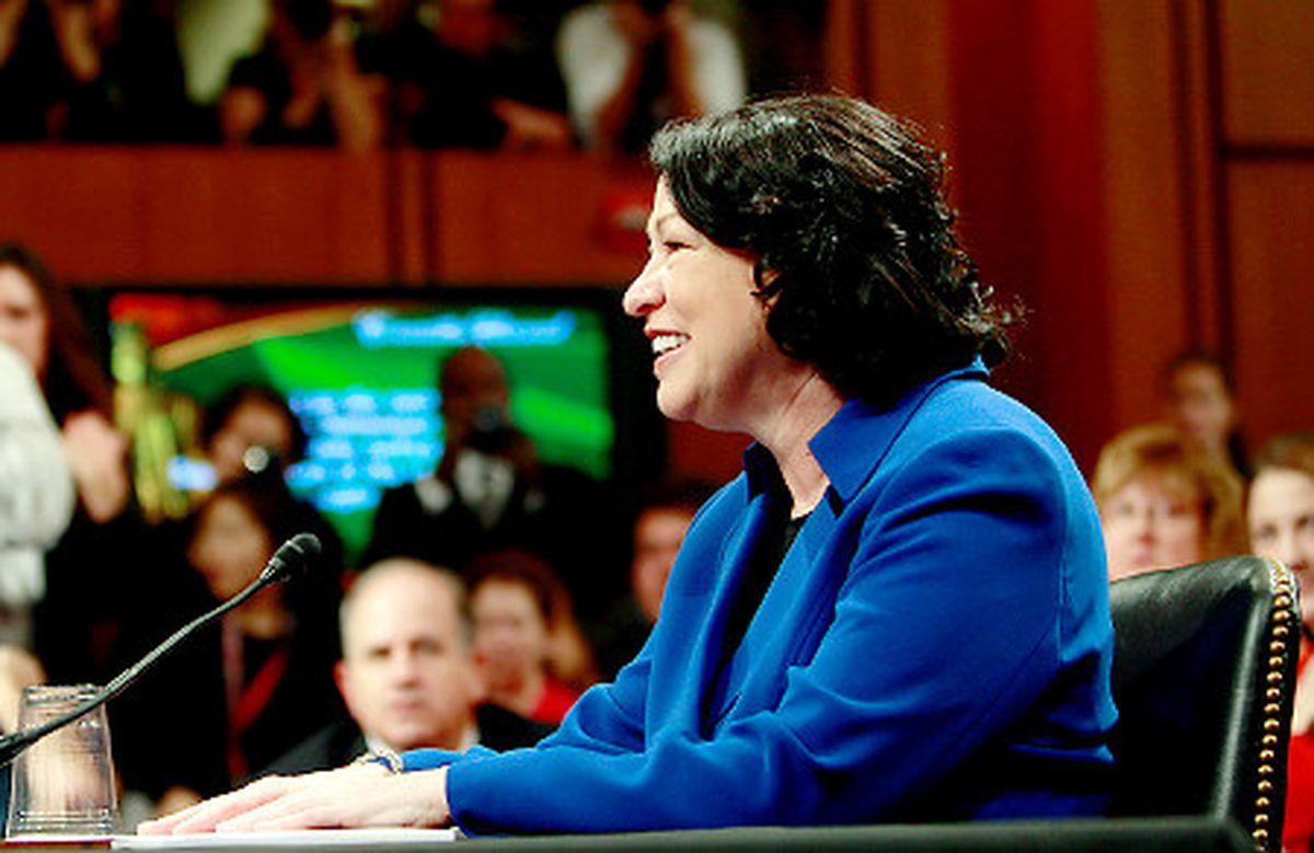 Supreme Court Justice Nominee Sonia Sotomayor Defies