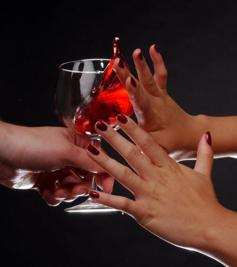 Non-drinkers are usually faced with a barrage of questions when they turn down a drink, but there's no need to justify why you abstain.