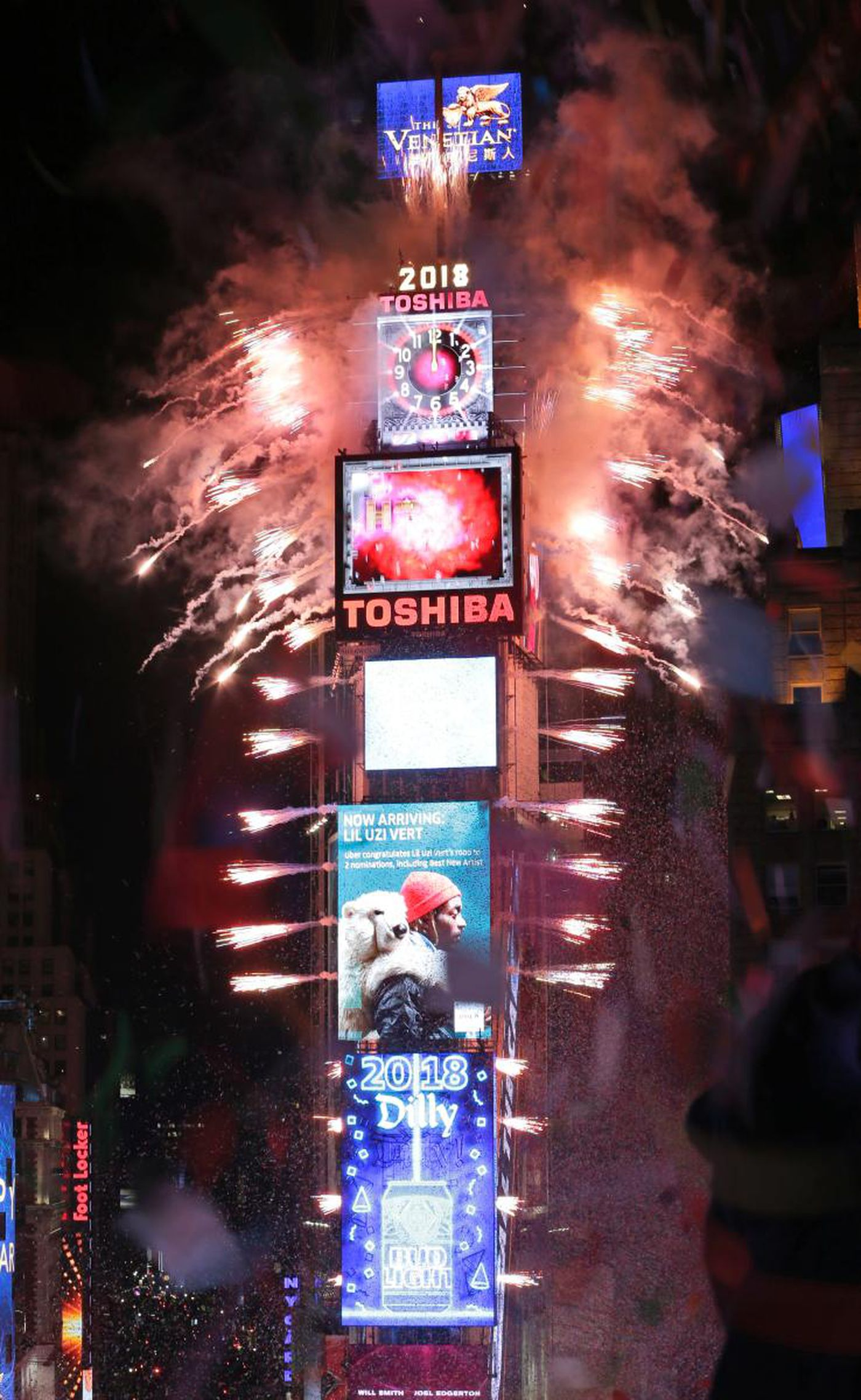 The Latest  Times Square New Year  a beautiful experience    NY     The Latest  Times Square New Year  a beautiful experience