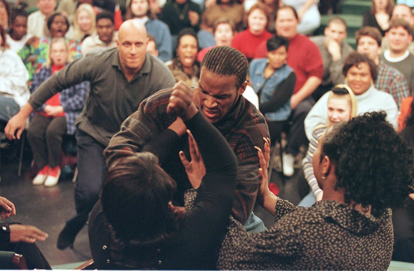 Image result for Jerry Springer show fights, photos
