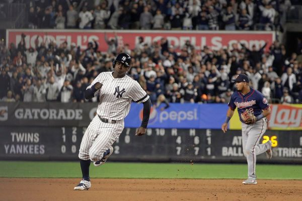 Yankees ALDS Notebook: Didi Gregorius still slumping at the plate, but Aaron Boone thinks