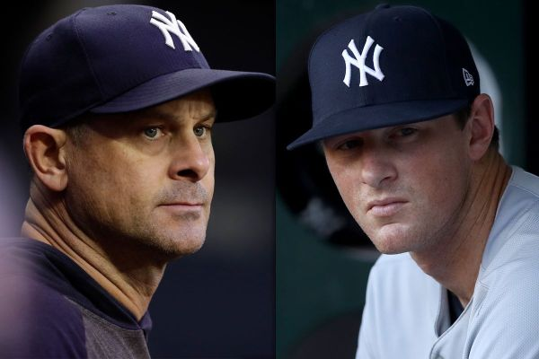 Aaron Boone and DJ LeMahieu are the Yankees