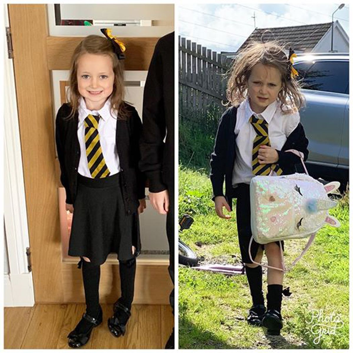 Mom S Before And After Pics After Daughter S First Day