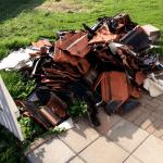 Søppel på bakken