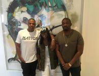 Don Jazzy, Tiwa Savage, Jay Z